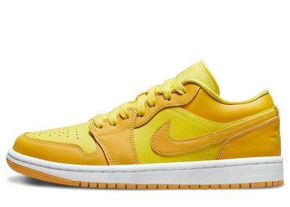 Nike Air jordan 1 Low Yellow Strike Womensの写真