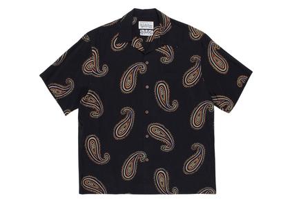 舐達麻 × WACKO MARIA Aloha Shirt Paisley Blackの写真