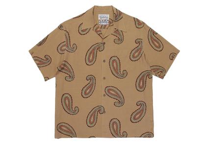 舐達麻 × WACKO MARIA Aloha Shirt Paisley Beigeの写真