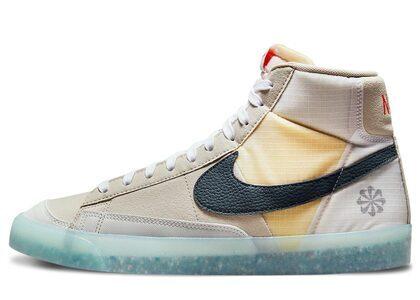 Nike Blazer Mid 77 Cream/Orangeの写真