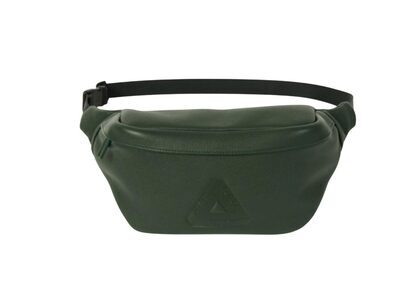 Palace Leather Bum Bag Olive FW21の写真