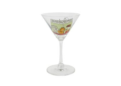 Palace Garfield Martini Glasses Clear green FW21の写真