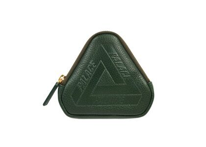 Palace Leather Coin Wallet Green FW21の写真