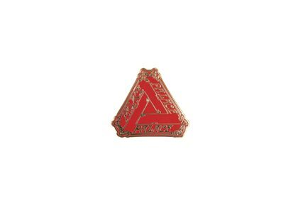 Palace Tri-Le Beurre Pin Badge Red FW21の写真