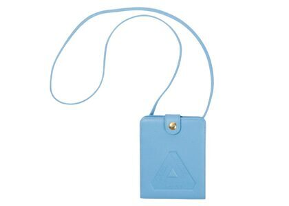 Palace Leather Hanging Wallet Blue FW21の写真