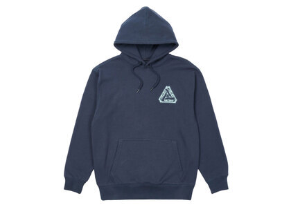 Palace Tri-Le Beurre Hood Navy FW21の写真