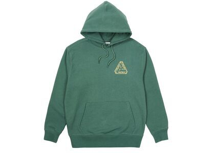 Palace Tri-Le Beurre Hood Green FW21の写真
