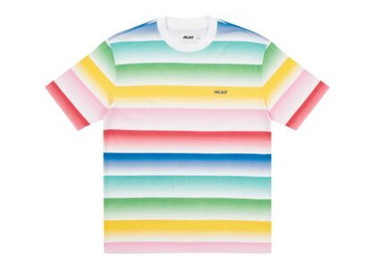 Palace Catch The Fade T-Shirt Pink/Green FW21の写真