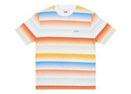 Palace Catch The Fade T-Shirt Sand/Orange FW21の写真
