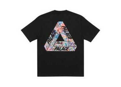 Palace Tri-Sticker Pack T-Shirt Black FW21の写真