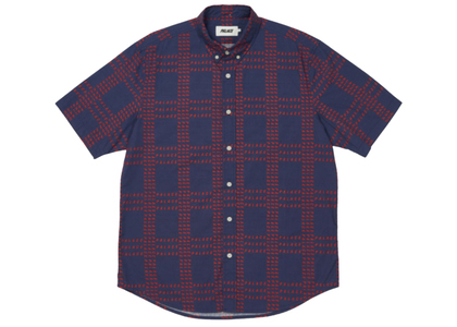 Palace Multi Palace Shirt Navy/Red FW21の写真