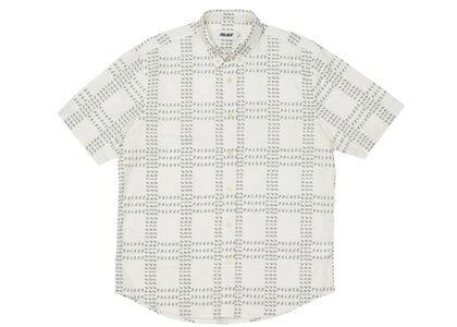 Palace Multi Palace Shirt White/Olive FW21の写真