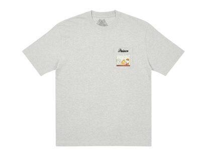 Palace Garfield Pocket T-Shirt Gray FW21の写真