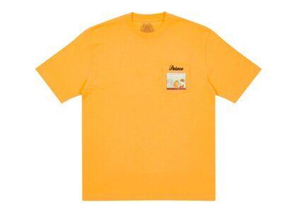 Palace Garfield Pocket T-Shirt Orange FW21の写真