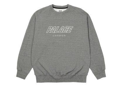 Palace Gaufre Drop Sholder Crew Black FW21の写真