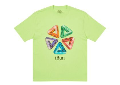 Palace Ich Bun T-Shirt Light Lime FW21の写真