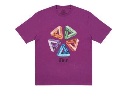 Palace Ich Bun T-Shirt Plum FW21の写真