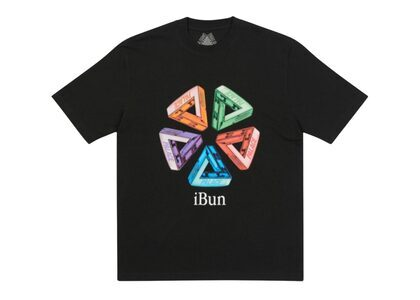 Palace Ich Bun T-Shirt Black FW21の写真