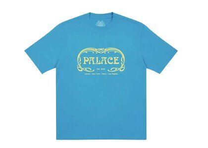 Palace Palais T-Shirt Petrol Blue FW21の写真