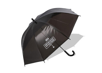WIND AND SEA ARCVBX Vinyl Umbrella 60cm Blackの写真