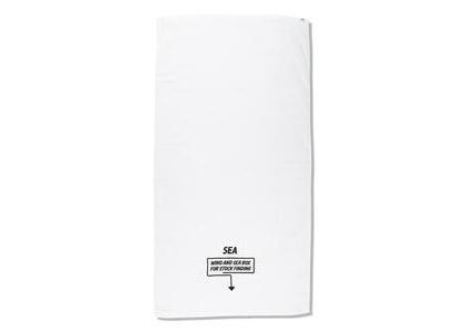 Imabari Towel × WIND AND SEA ARCVBX Bath Towel Whiteの写真