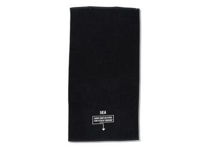 Imabari Towel × WIND AND SEA ARCVBX Bath Towel Blackの写真