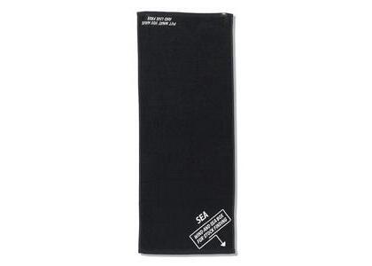 Imabari Towel × WIND AND SEA ARCVBX Face Towel Blackの写真