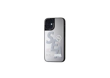 CASETiFY × Neighborhood × WIND AND SEA NHWC-M / P-iPhone (12Mini) Silver × Mirrorの写真