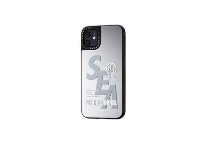 CASETiFY × Neighborhood × WIND AND SEA NHWC-M / P-iPhone (11 / 11Pro / 11Pro Max) Silver × Mirrorの写真
