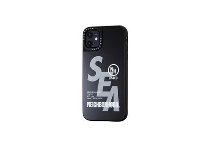 CASETiFY × Neighborhood × WIND AND SEA NHWC-M / P-iPhone (11 / 11Pro / 11Pro Max) Black × Mirrorの写真