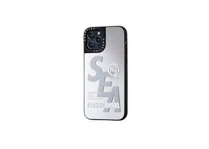 CASETiFY × Neighborhood × WIND AND SEA NHWC-M / P-iPhone (12 / 12Pro / 12Pro Max) Silver × Mirrorの写真