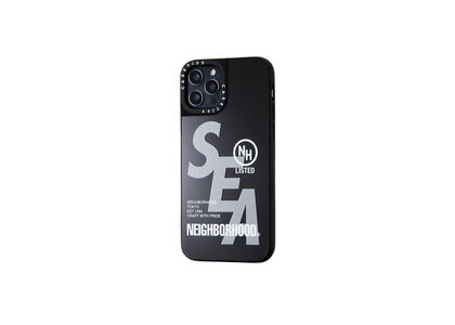 CASETiFY × Neighborhood × WIND AND SEA NHWC-M / P-iPhone (12 / 12Pro / 12Pro Max) Black × Mirrorの写真