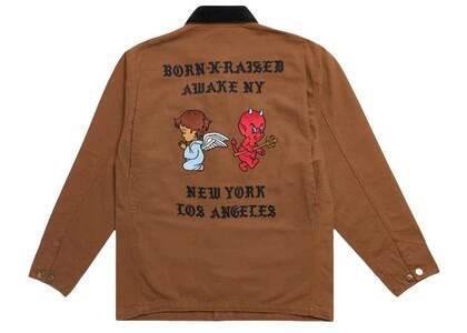 Born × Raised Carhartt WIP × Awake Chore Coat Brown (SS21)の写真