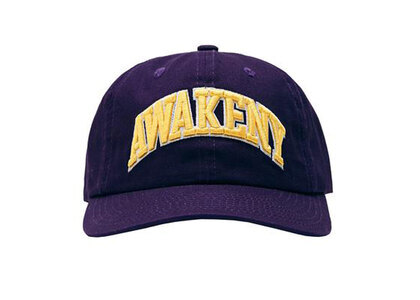 Awake NY Arch Logo 6 Panel Hat Purpleの写真