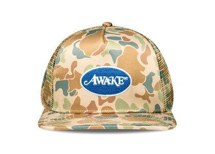 Awake NY Classic Logo Trucker Hat Duck Camoの写真