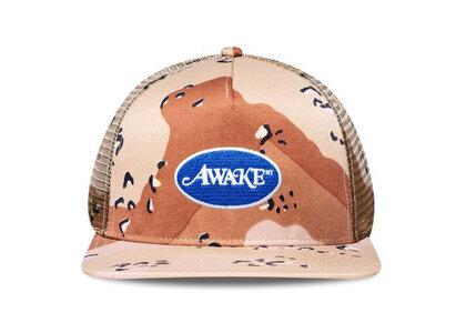 Awake NY Classic Logo Trucker Hat Sand Camoの写真