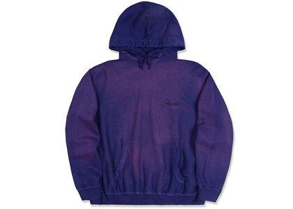 Awake NY Sunbleached Logo Hoodie Purpleの写真