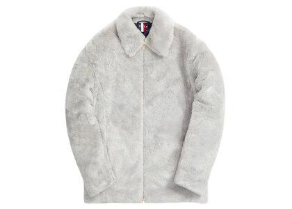 Kith for Team USA Faux Fur Coaches Jacket Concreteの写真