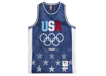 Kith for Team USA Basketball Jersey Nocturnalの写真