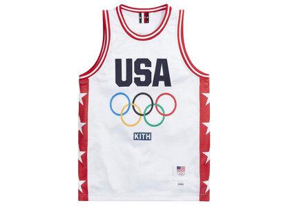 Kith for Team USA Basketball Jersey Whiteの写真