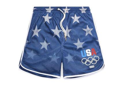 Kith for Team USA Stars Jordan Mesh Short Nocturnalの写真
