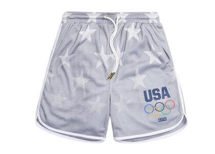 Kith for Team USA Stars Jordan Mesh Short Statueの写真