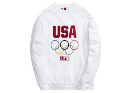 Kith for Team USA Classic Crewneck Whiteの写真