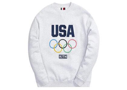 Kith for Team USA Classic Crewneck Light Heather Greyの写真