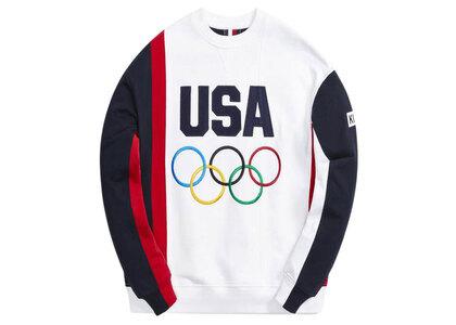 Kith for Team USA Colorblocked Crewneck White / Multiの写真