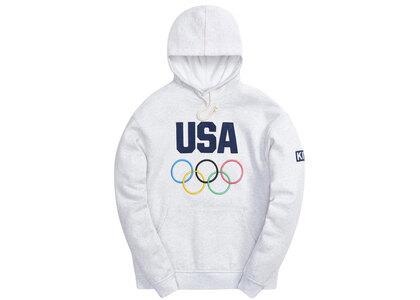 Kith for Team USA Williams III Hoodie Light Heather Greyの写真