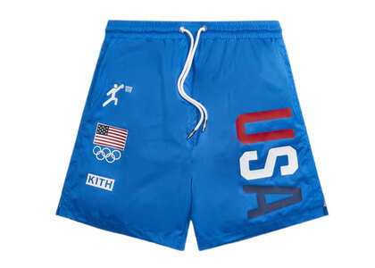Kith for Team USA Ring Swim Shorts Voyageの写真