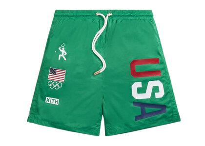 Kith for Team USA Ring Swim Shorts Apexの写真