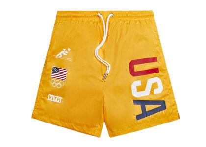 Kith for Team USA Ring Swim Shorts Midsummerの写真