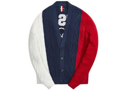 Kith for Team USA Cable Knit Cardigan Nocturnalの写真